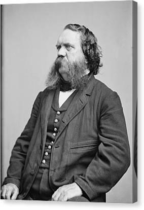 Thomas B. Thorp 1815-1878 American Canvas Print by Everett
