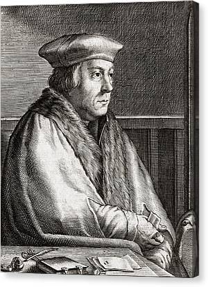 Thomas Cromwell, English Statesman Canvas Print by Middle Temple Library