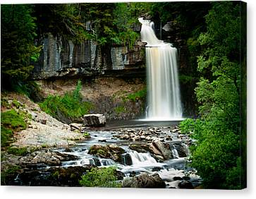 Thornton Force Waterfall 2 Canvas Print by Andy Comber