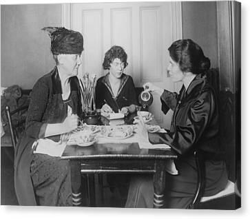 Three Feminists Activists Canvas Print by Everett