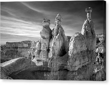 Canvas Print featuring the photograph Three Kings by Mike Irwin