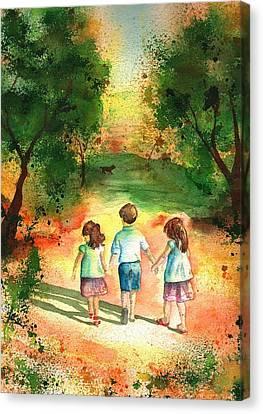 Three S Company Canvas Print by Sharon Mick