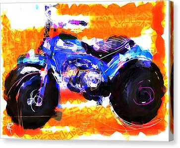 Three Wheels Of Fun Canvas Print