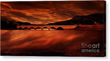 Through The Arches Canvas Print