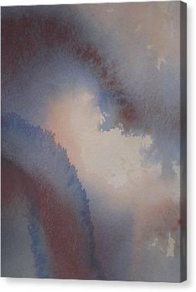 Through The Blue Canvas Print