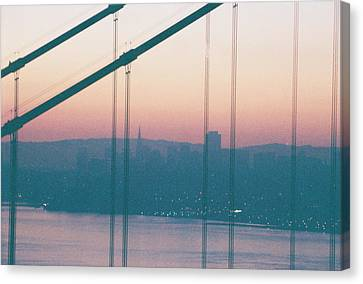 Through The Bridge Canvas Print