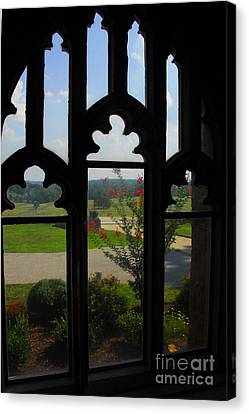 Canvas Print featuring the photograph Through The Chapel Arches by Cindy Manero