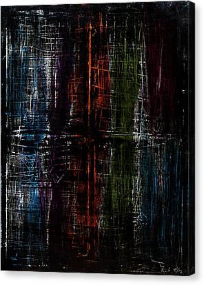 Through The Darkness Canvas Print by Terrance Prysiazniuk