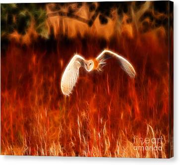 Through The Fire Canvas Print by Beth Sargent