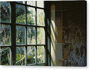 Canvas Print featuring the photograph View Through The Window by Marilyn Wilson