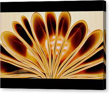 Canvas Print featuring the photograph Throughout The Pages by Rima Biswas