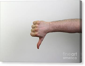 Thumbs Canvas Print by Photo Researchers, Inc.