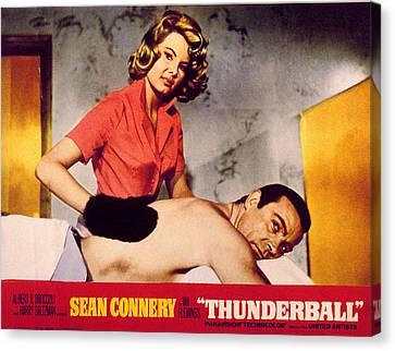 Thunderball, Molly Peters, Sean Canvas Print by Everett