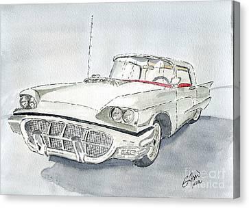 Thunderbird 1960 Canvas Print by Eva Ason