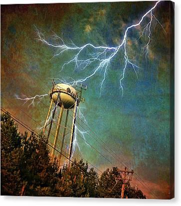 Thundering Bolts Canvas Print
