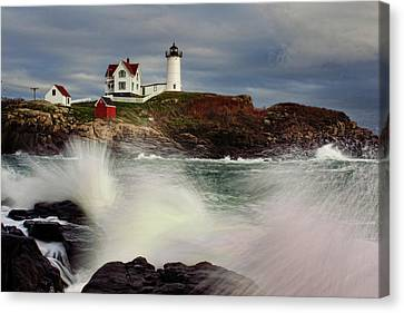 Thundering Tide Canvas Print by Rick Berk
