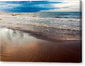 Tide Canvas Print by Matt Dobson