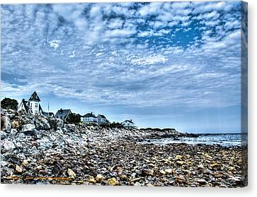 Tides Out Canvas Print by Dan Crosby