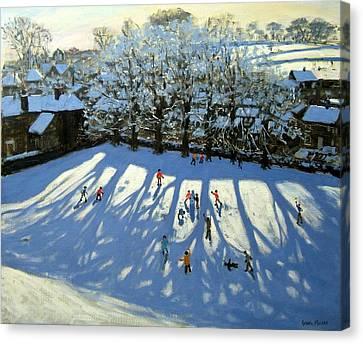 Tideswell Derbyshire Canvas Print