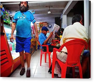 Tienda El Che Canvas Print by Skip Hunt