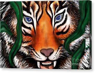 Feline Canvas Print - Tiger by Christine Mayfield