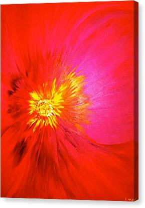 Tiger Flower.. Canvas Print by Pretchill Smith