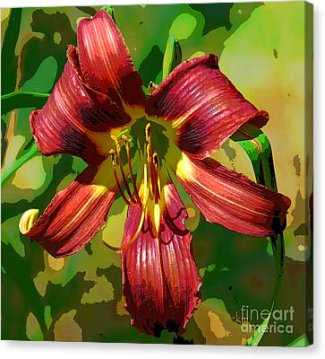 Canvas Print featuring the photograph Tiger Lily by Cindy Manero