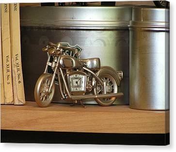 Canvas Print featuring the photograph Time And Cycles by Rand Swift