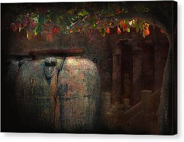 Time And The Clarity Of Sunlight Canvas Print by Jeff Burgess
