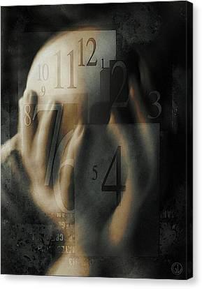 Time Confusion Canvas Print by Gun Legler