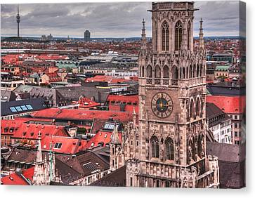 Time For Munich Canvas Print by Anthony Citro