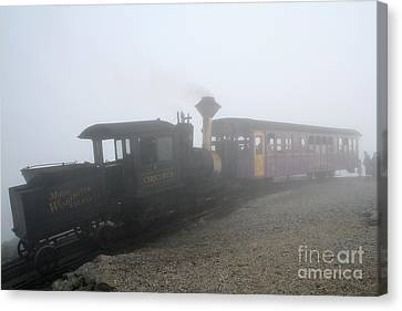 Canvas Print featuring the photograph Time Machine by Adrian LaRoque