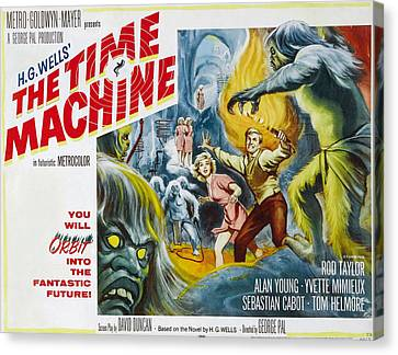 Time Machine, The, Yvette Mimieux, Rod Canvas Print by Everett
