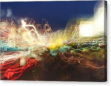 Time Tunnel Canvas Print by Rick Rauzi