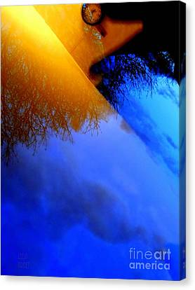 Time Wave Canvas Print