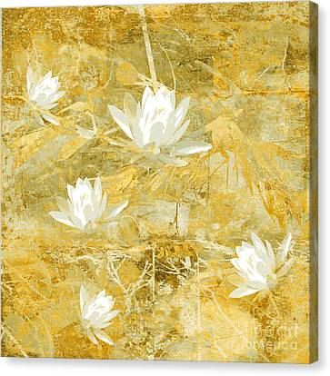 Timeless Beauty Photo Collage Canvas Print by Ann Powell