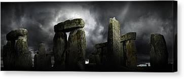 Canvas Print featuring the photograph Timeless Great Stones by John Chivers
