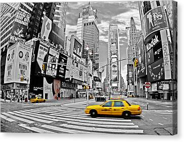 Times Square - New York Canvas Print