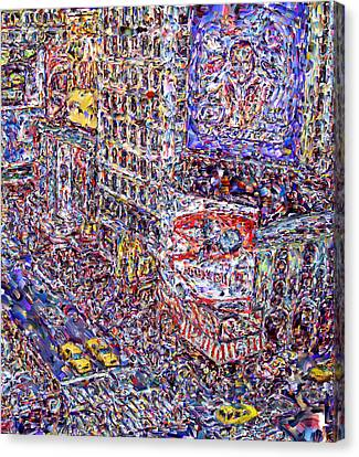 Canvas Print - Times Square by Marilyn Sholin
