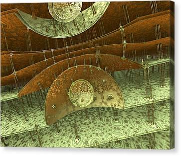 Timpani Canvas Print by Pam Blackstone