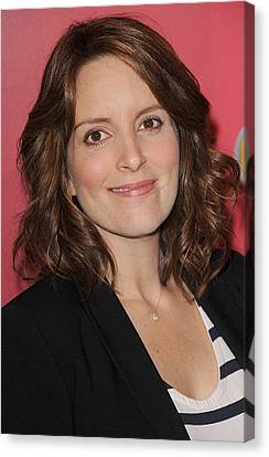 Kristin Callahan Canvas Print - Tina Fey At Arrivals For Nbc Upfront by Everett