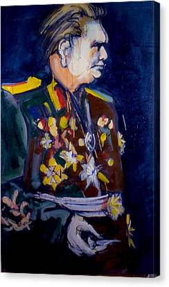Tito Canvas Print by Les Leffingwell