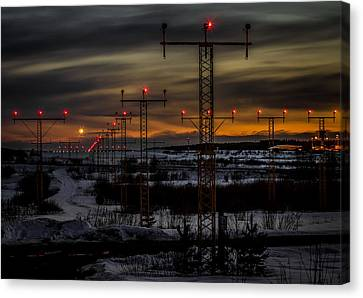 Canvas Print featuring the photograph TMP by Matti Ollikainen