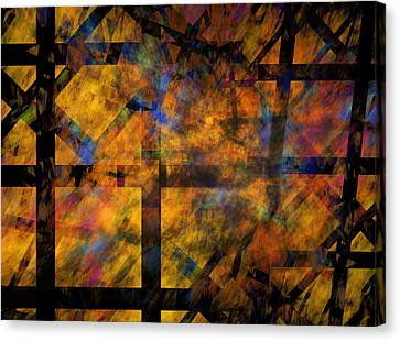 To See The Fire Canvas Print by Betsy Knapp