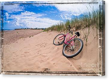 To The Beach Canvas Print by Edward Fielding