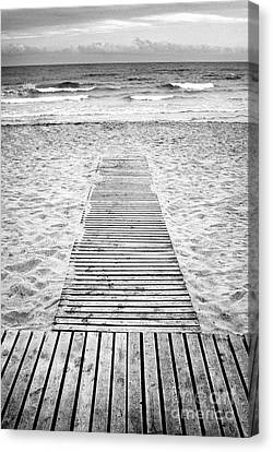 To The Beach Canvas Print by Trevor Sollars
