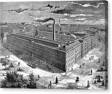 Tobacco Factory, 1876 Canvas Print by Granger