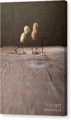 Grandmother Canvas Print - Together 03 by Nailia Schwarz