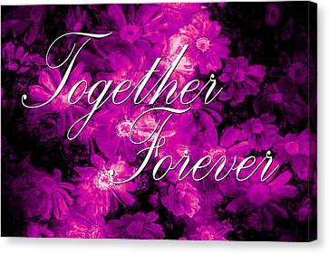 Together Forever Canvas Print by Phill Petrovic
