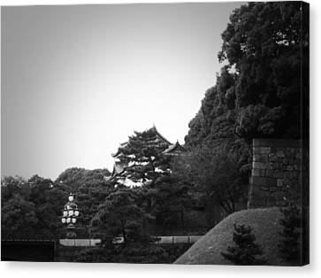 Tokyo Imperial Palace Canvas Print by Naxart Studio